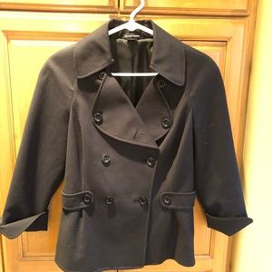 Black double breasted coat or blazer